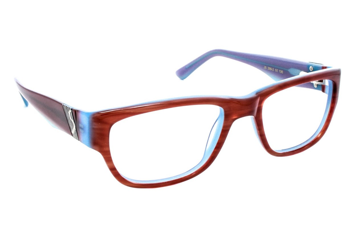 Jill Stuart JS 299 Red Eyeglasses