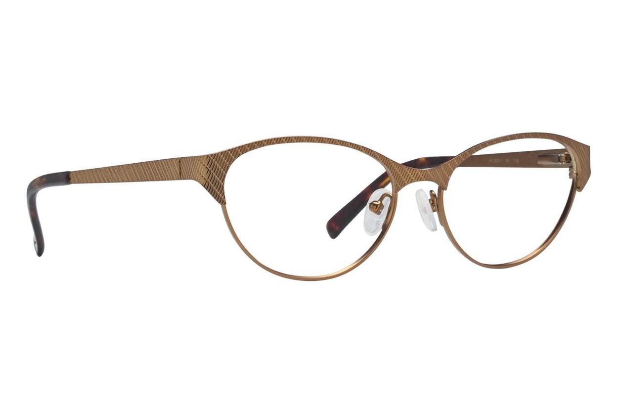 Jill Stuart JS 302 Brown Eyeglasses
