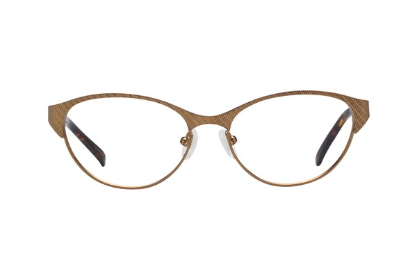 Jill Stuart JS 302 Brown Eyeglasses