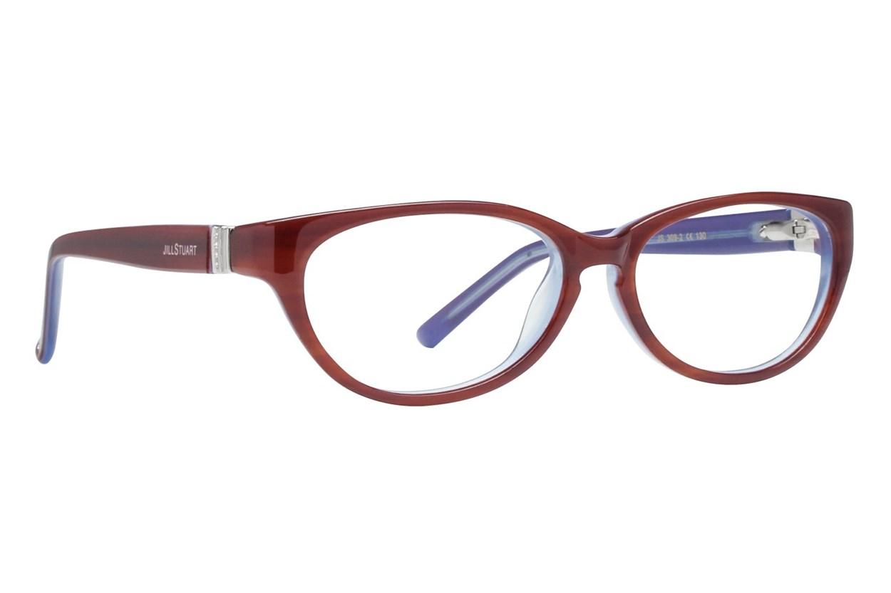 Jill Stuart JS 309 Red Eyeglasses