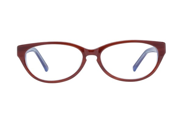 Jill Stuart JS 309 Red Eyeglasses