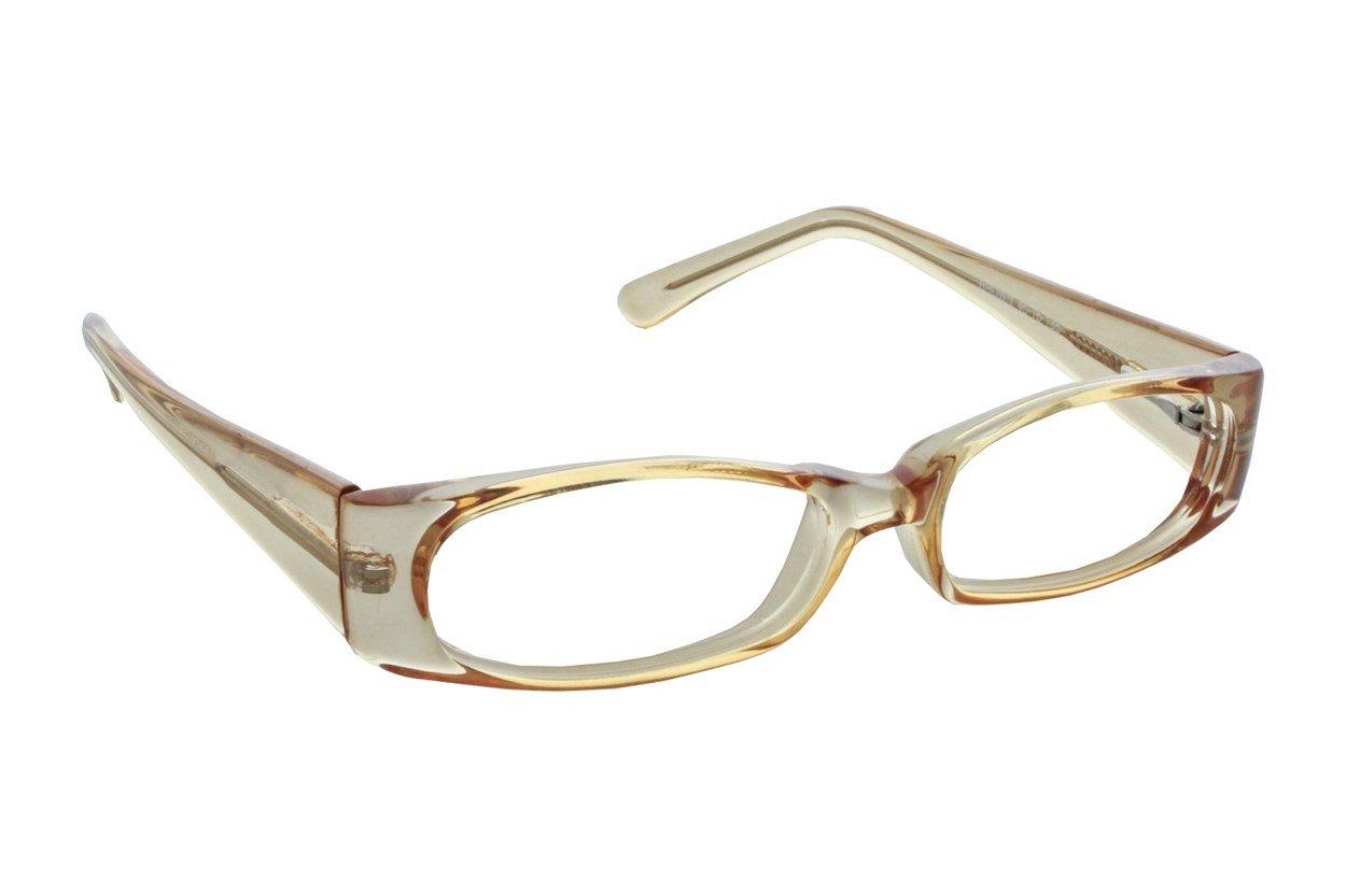 Lunettos Erika Brown Eyeglasses