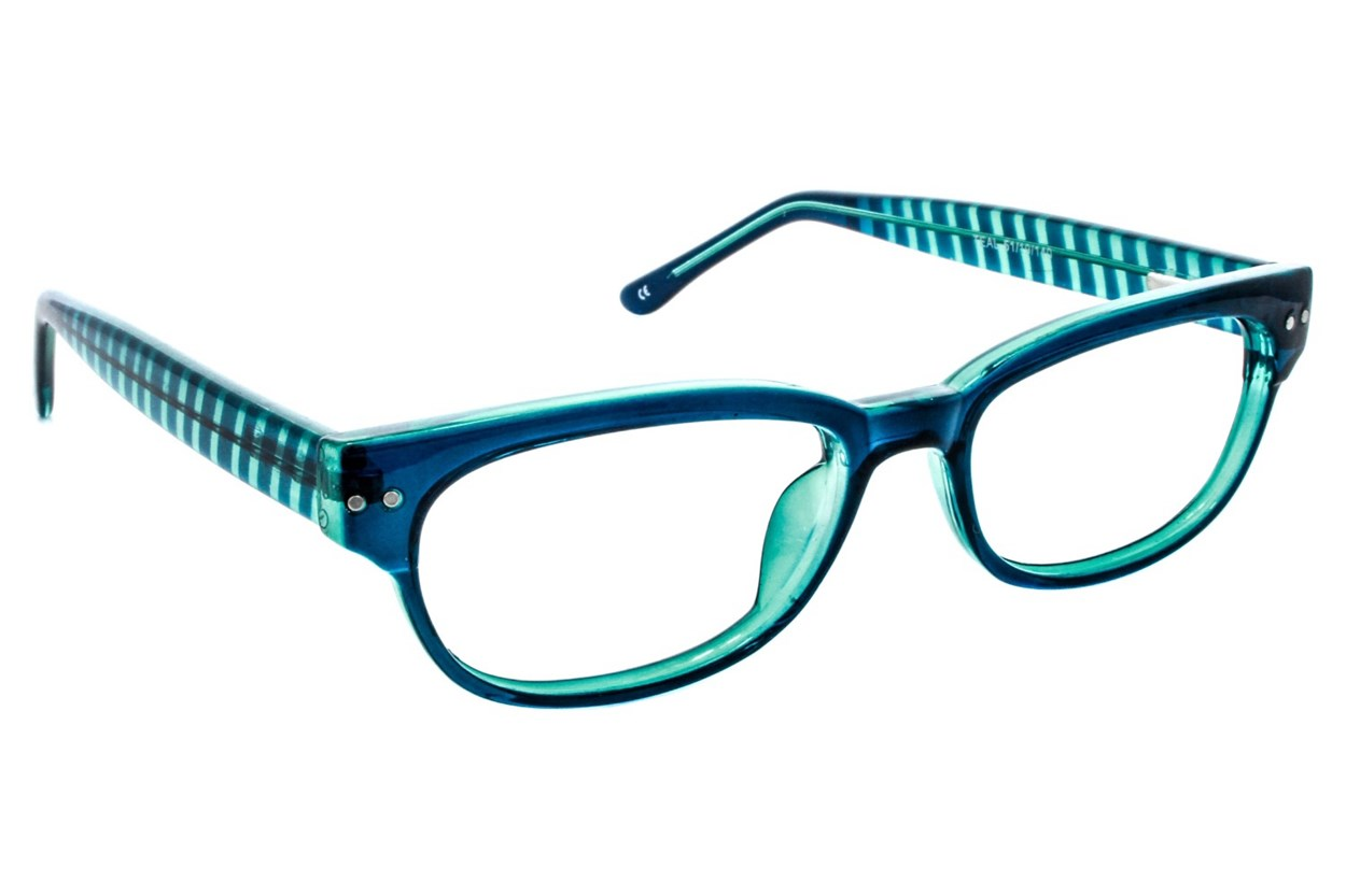 Lunettos Lynx Turquoise Eyeglasses