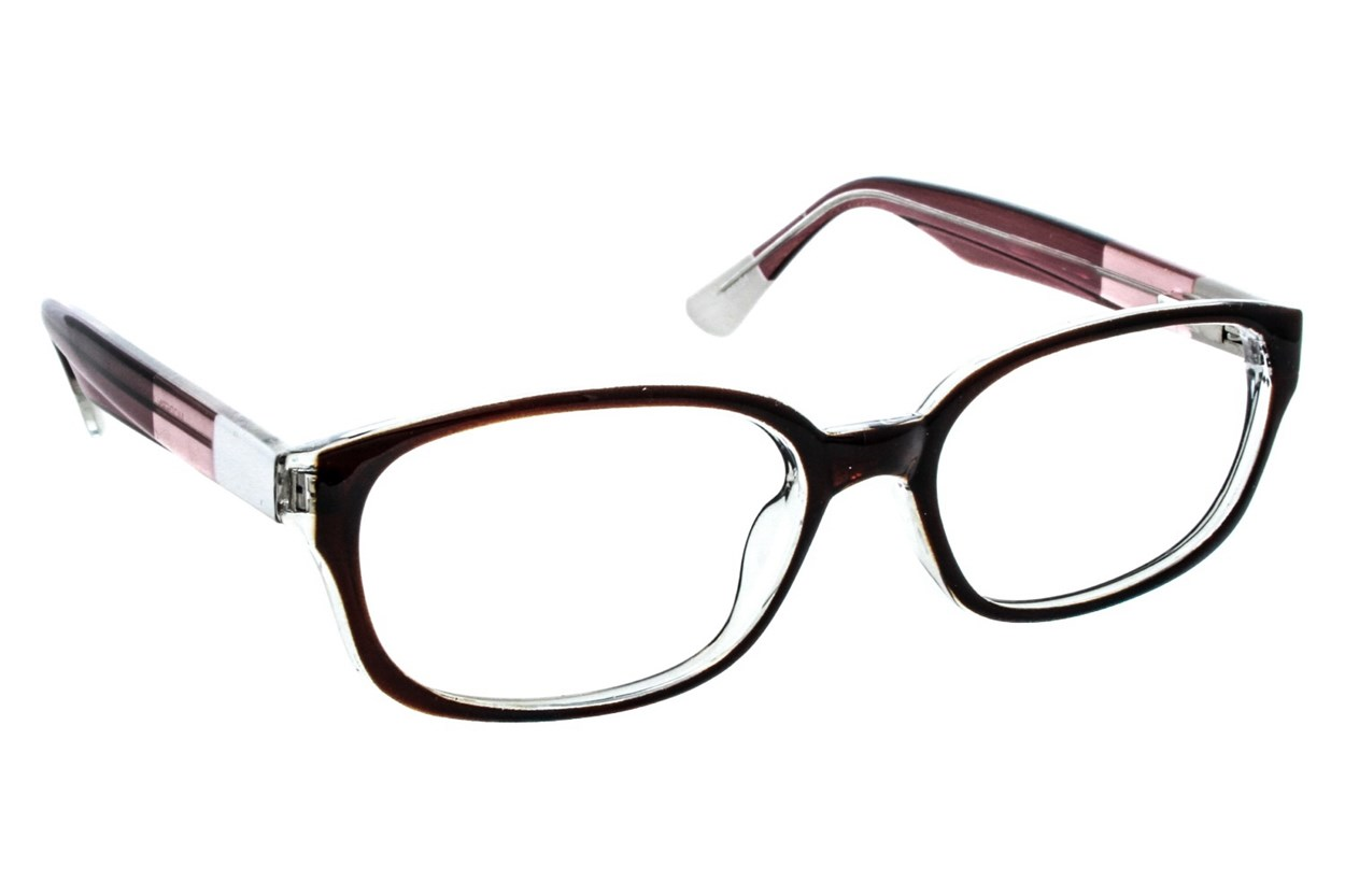 Lunettos Madison Brown Eyeglasses