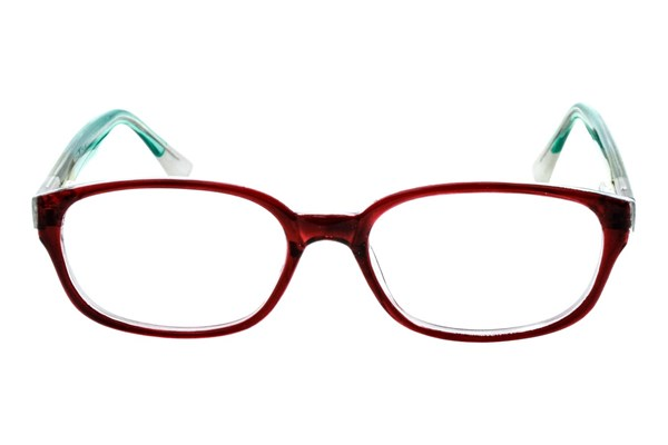 Lunettos Madison Eyeglasses - Red