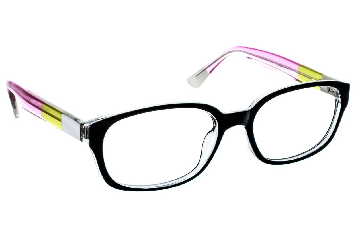 Lunettos Madison Black Eyeglasses