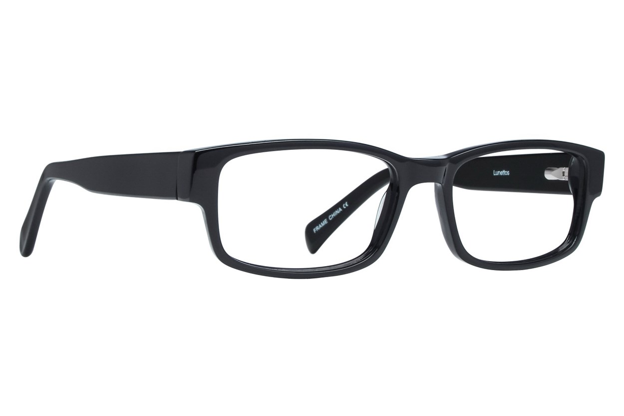 Lunettos Taylor Black Eyeglasses