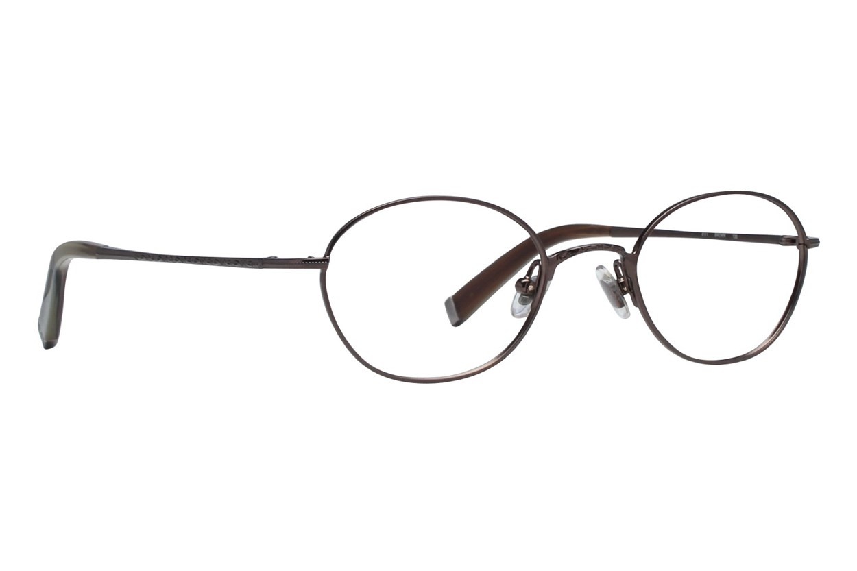John Varvatos V111 Brown Eyeglasses