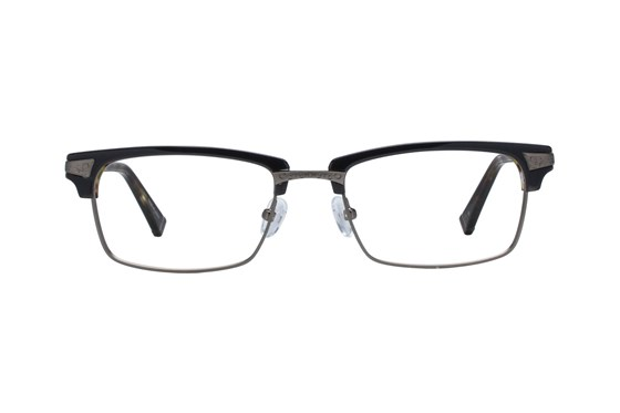 John Varvatos V145 Black Eyeglasses