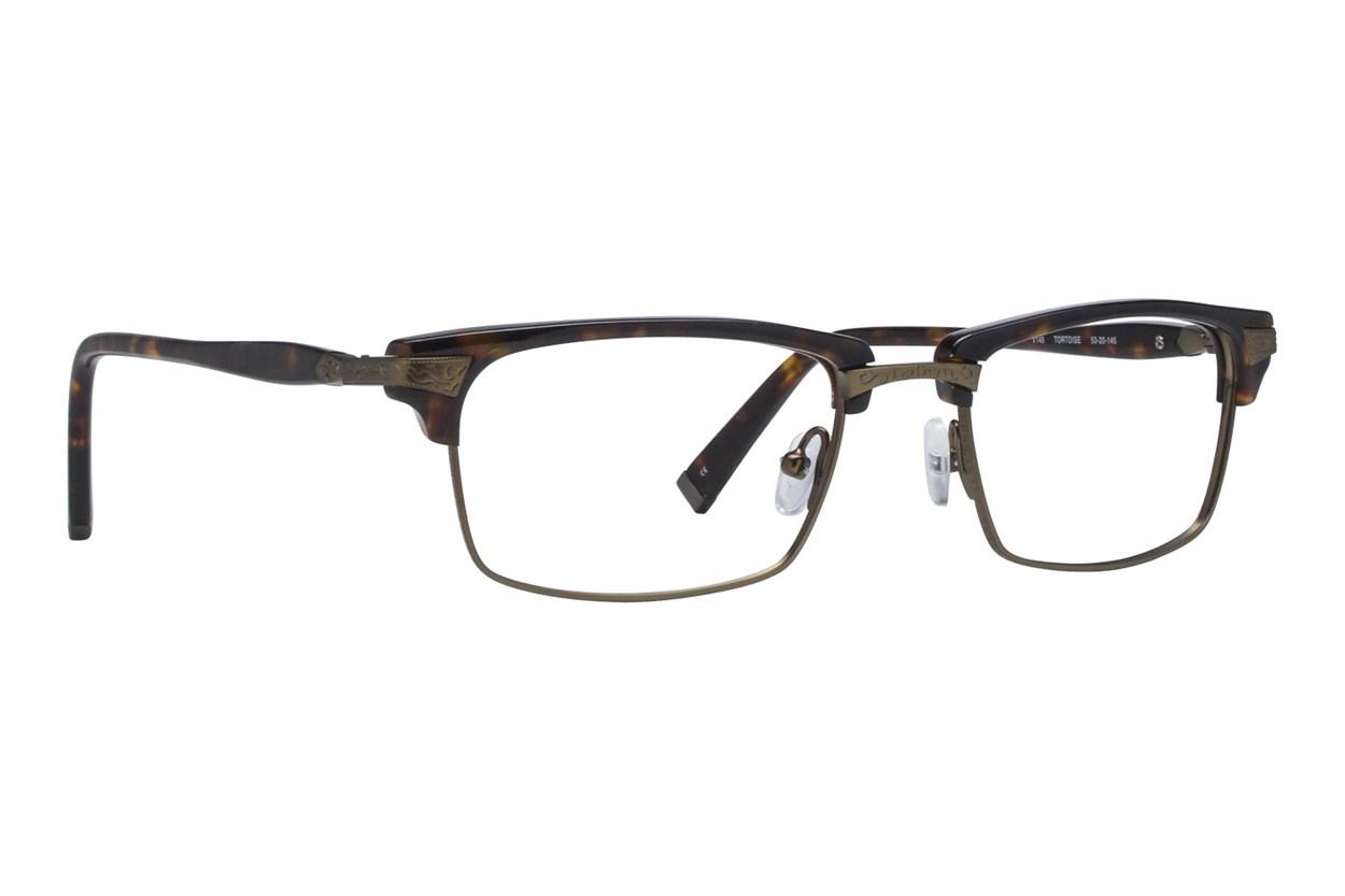 John Varvatos V145 Tortoise Eyeglasses