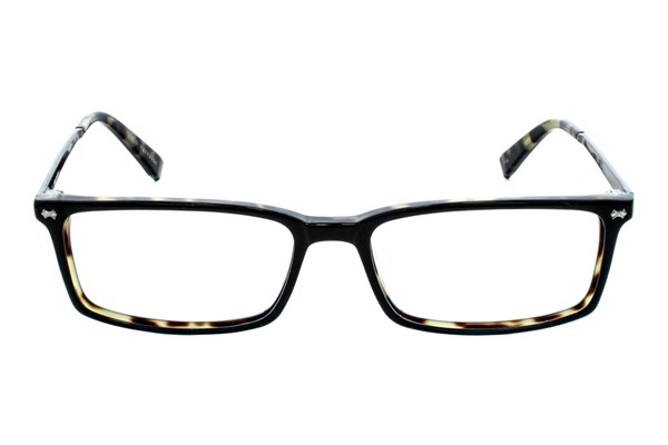 John Varvatos V336 Black Eyeglasses