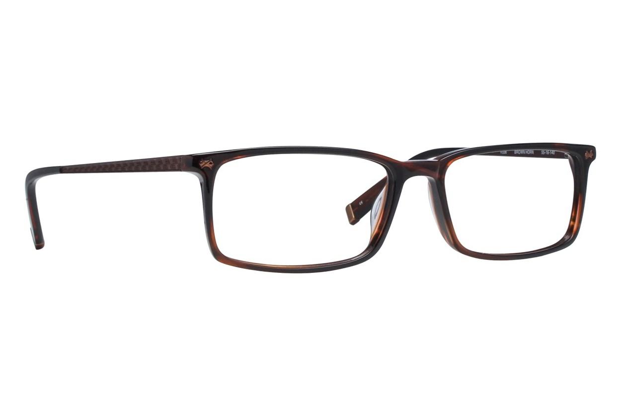 John Varvatos V336 Brown Eyeglasses
