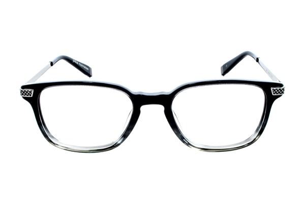 John Varvatos V348 Eyeglasses - Black