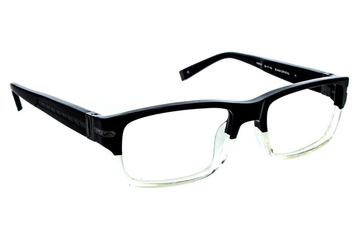 John Varvatos V349 Black Eyeglasses