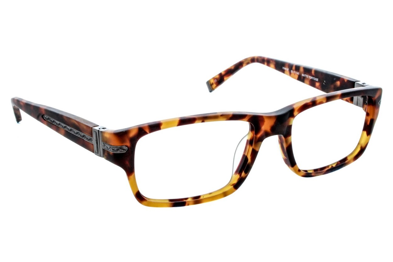 John Varvatos V349 Tortoise Eyeglasses
