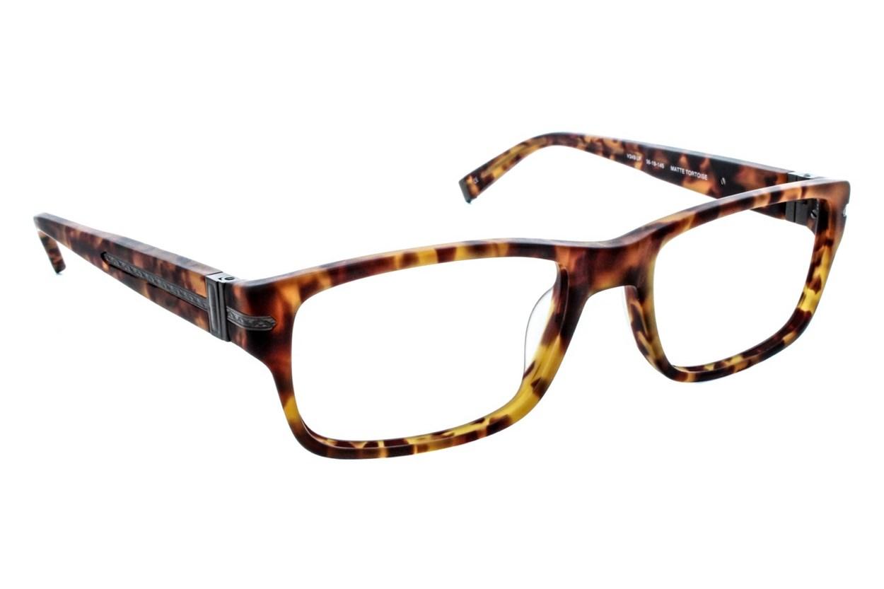 John Varvatos V349 (Large) Tortoise Eyeglasses