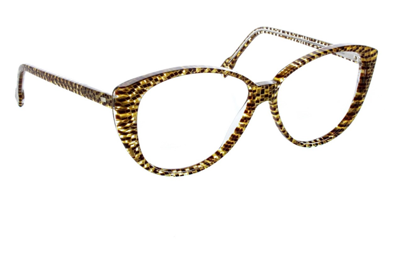 Vanni V1920 Tan Eyeglasses