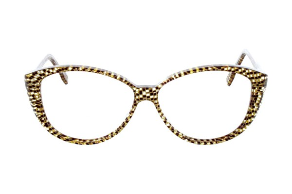 Vanni V1920 Eyeglasses - Tan