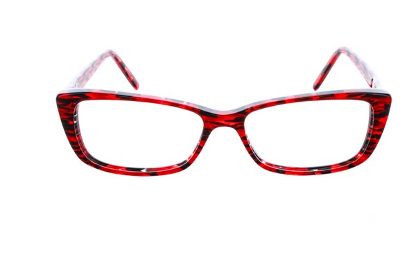 Vanni V1915 Eyeglasses - Red