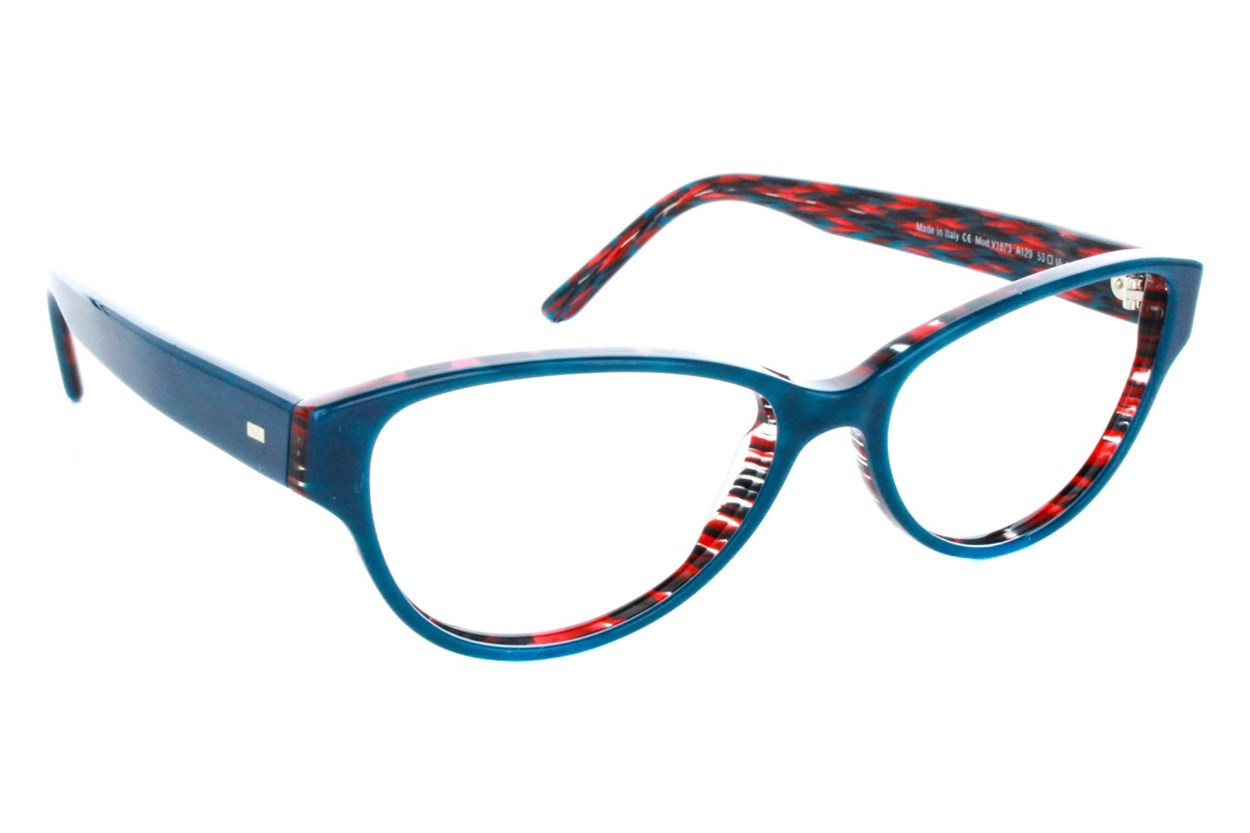 Vanni V1873 Turquoise Eyeglasses