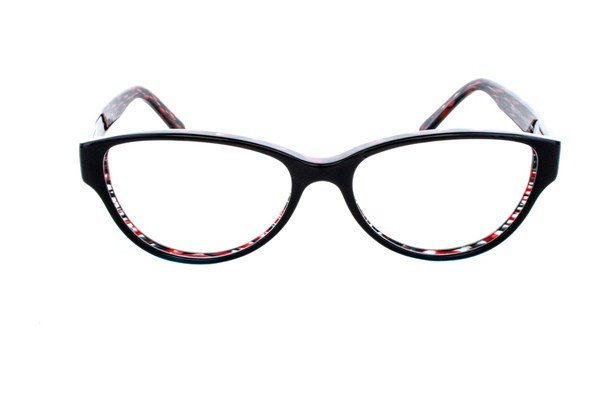 Vanni V1873 Black Eyeglasses