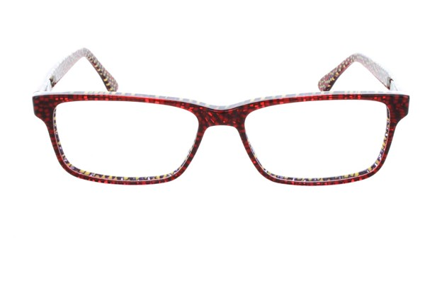 Vanni V1924 Eyeglasses - Red