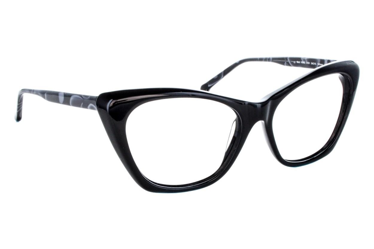 Vanni V3653 Black Eyeglasses