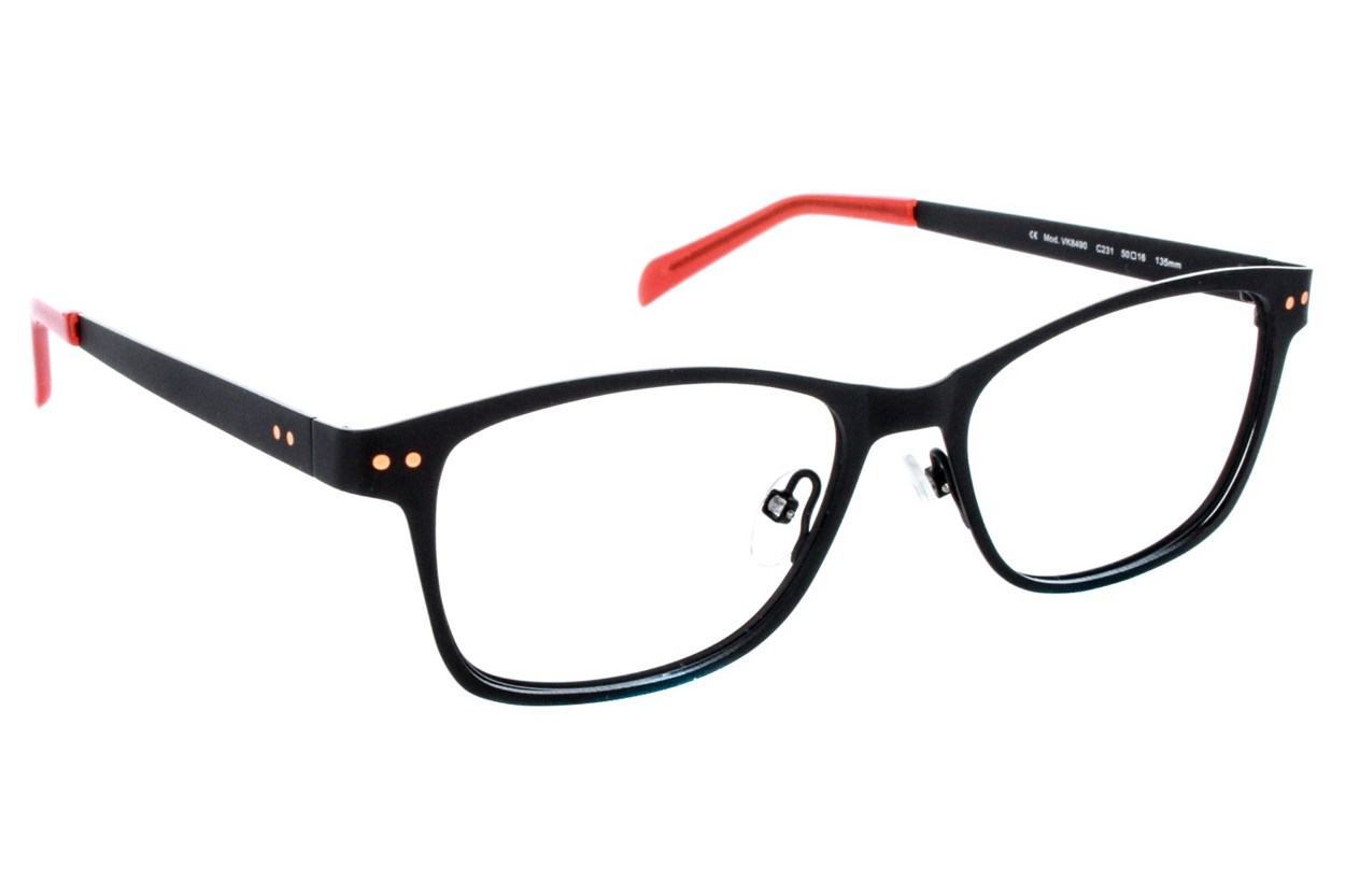 Vanni VK8490 Black Eyeglasses