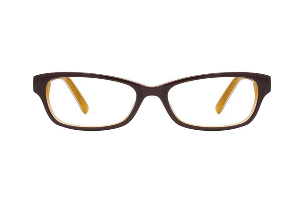 Hello Kitty HK236 Brown Eyeglasses