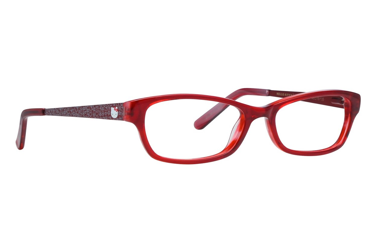 Hello Kitty HK236 Red Eyeglasses