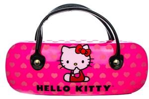 Click to swap image to alternate 1 - Hello Kitty HK239 Black Eyeglasses