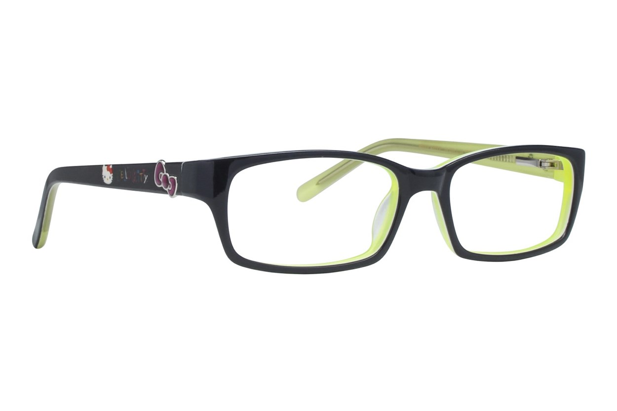 Hello Kitty HK239 Black Eyeglasses