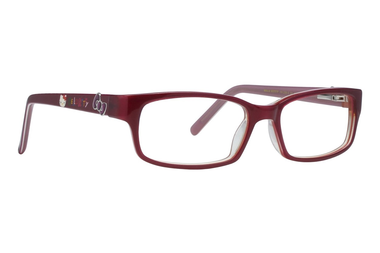Hello Kitty HK239 Pink Eyeglasses