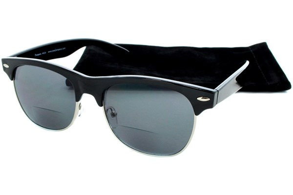 Peepers Havana Mens Bifocal Reading Sunglasses ReadingGlasses - Black