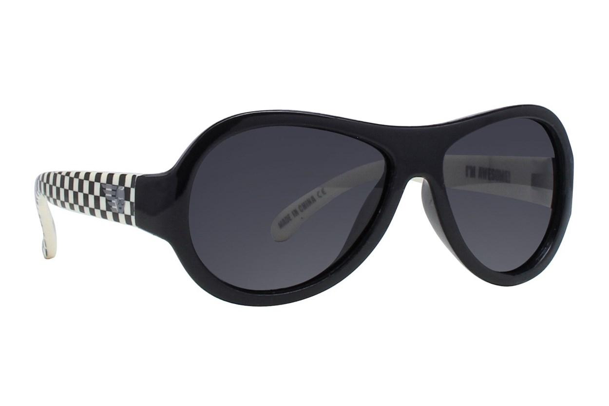 Babiators Polarized Sunglasses for Babies - Pattern Black Sunglasses