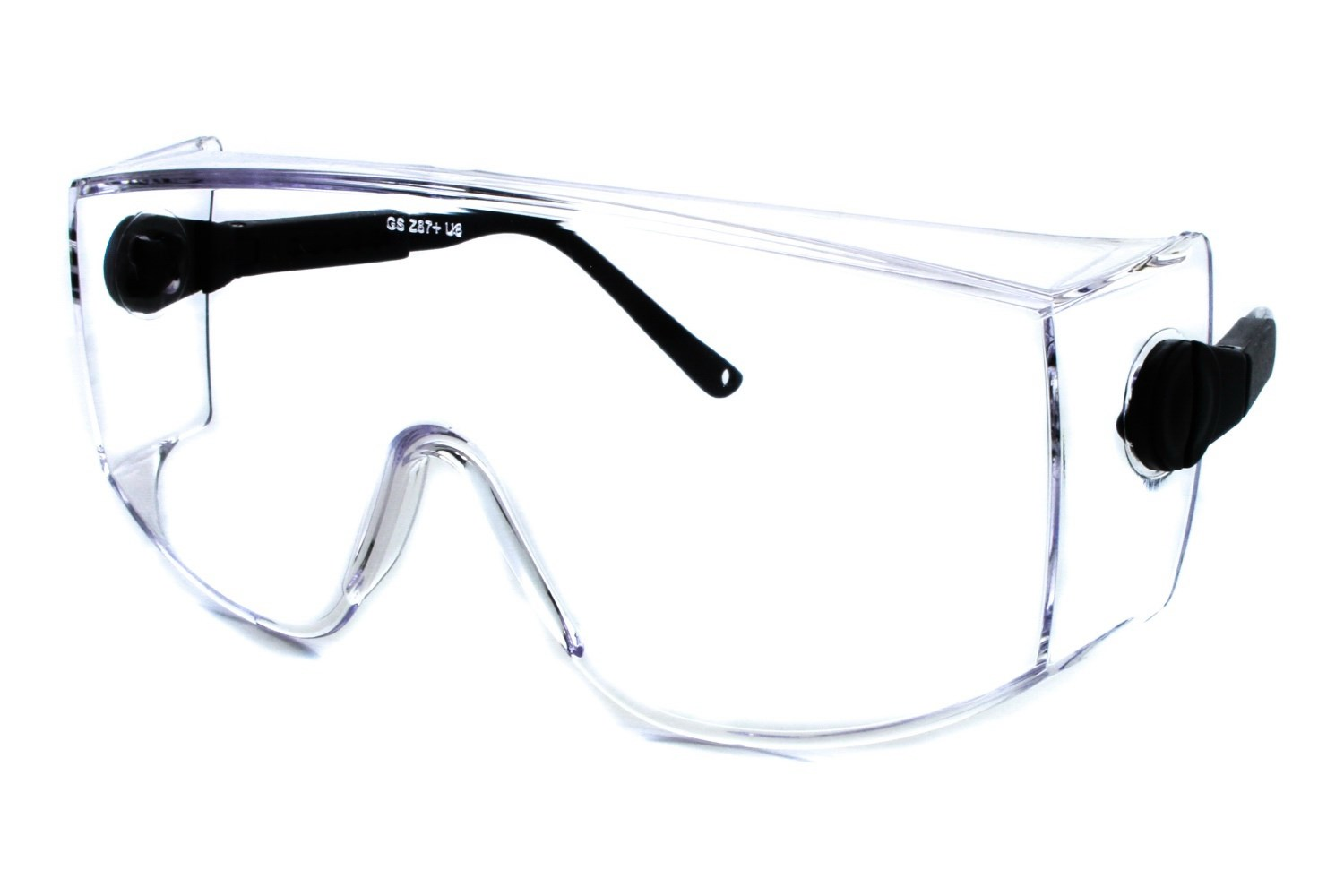 Coveralls Over the Glass Safety Eyewear
