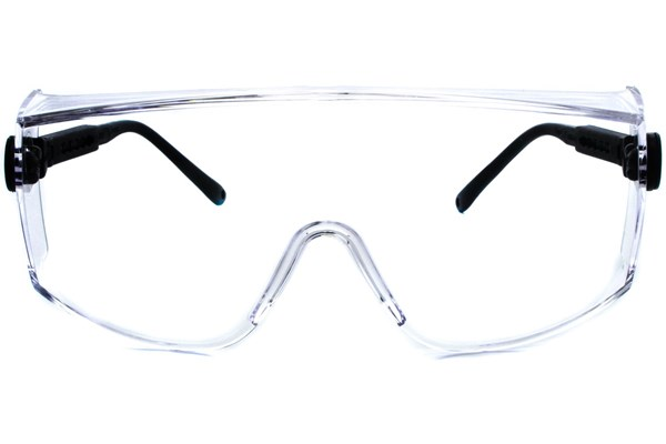 Amcon Coveralls Over the Glass Safety Eyewear ProtectiveEyewear - Clear