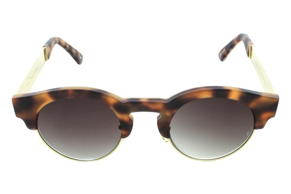 Sunday Somewhere Soelae Metal Sunglasses - Tortoise