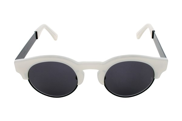 Sunday Somewhere Soelae Metal White Sunglasses