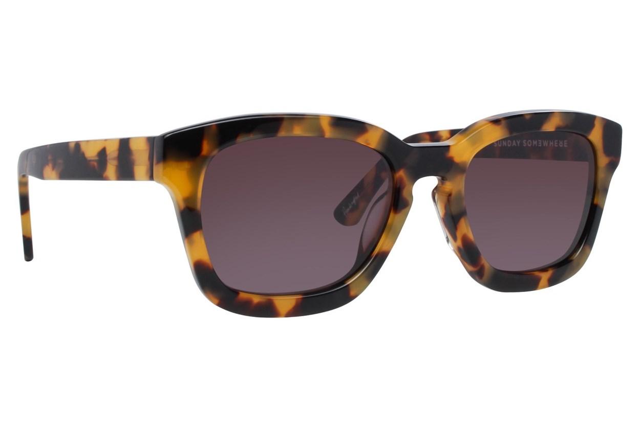 Sunday Somewhere CSA Tortoise Sunglasses