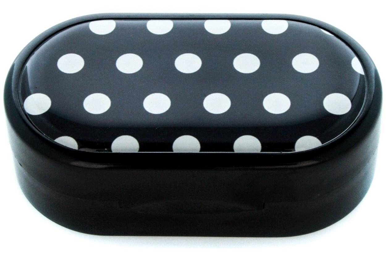 Amcon Polka Dot Designer Contact Lens Case  Cases