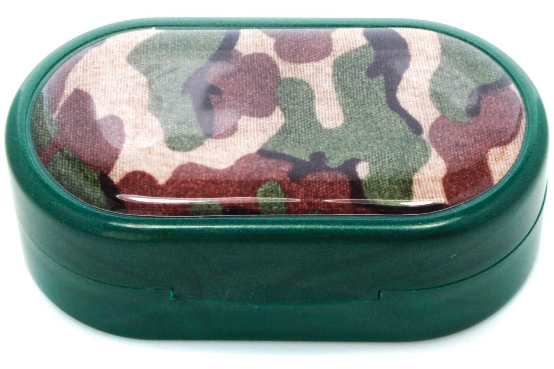 Camouflage Designer Contact Lens Case