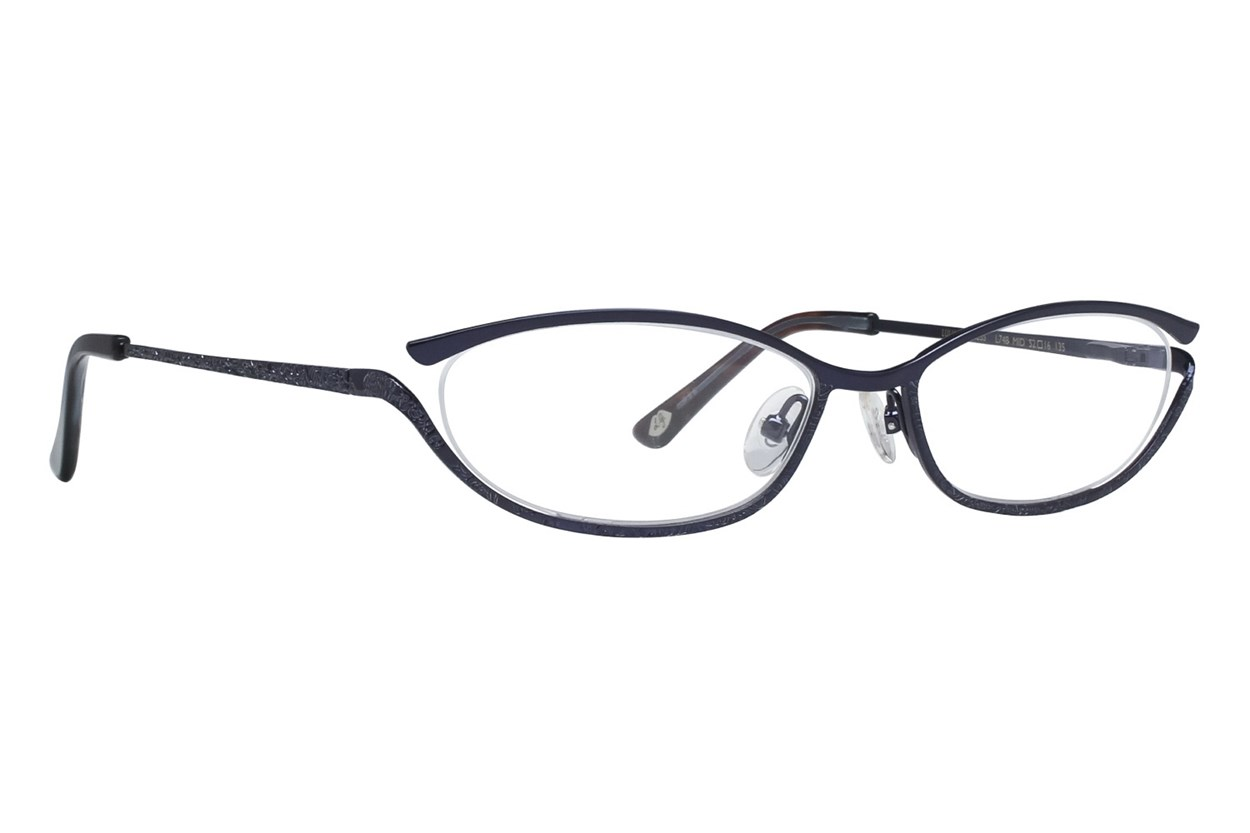 Lulu Guinness L748 Blue Eyeglasses