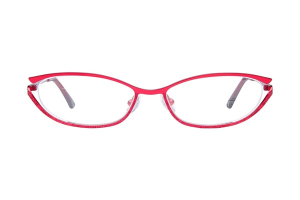 Lulu Guinness L748 Eyeglasses - Red