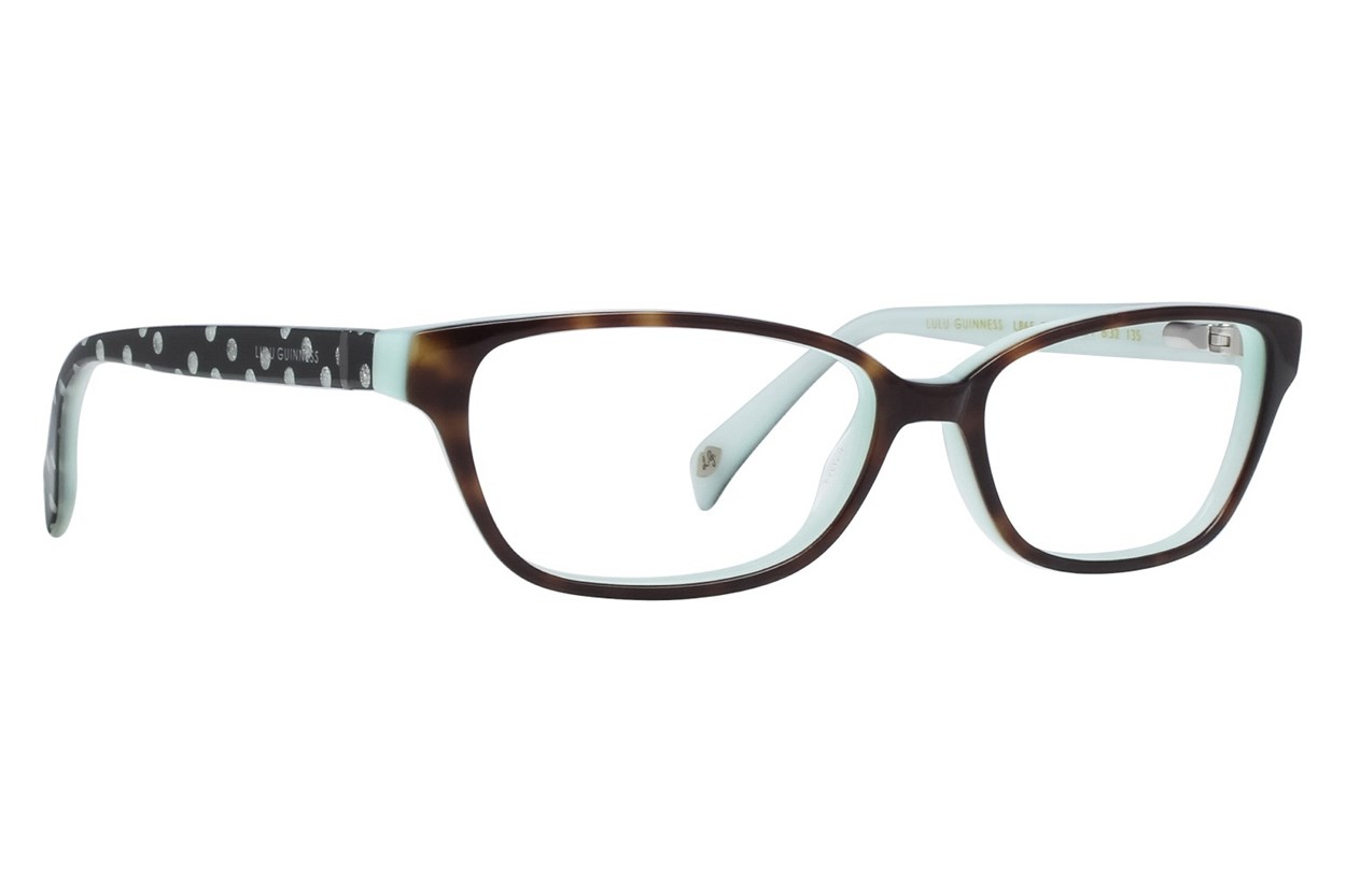 Lulu Guinness L865 Tortoise Eyeglasses