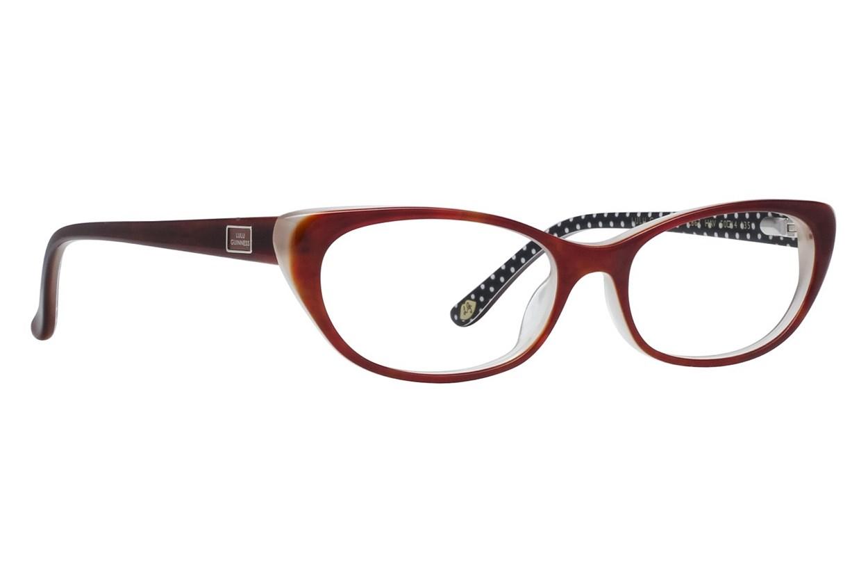 Lulu Guinness L867 Tortoise Eyeglasses