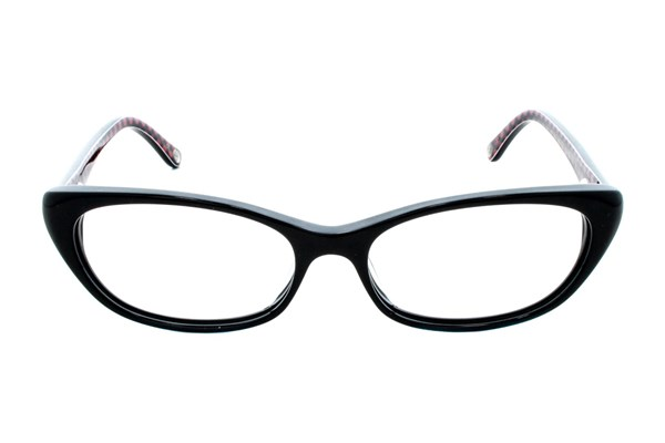 Lulu Guinness L867 Black Eyeglasses