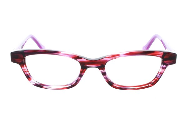 Kensie Girl Dancing Purple Eyeglasses