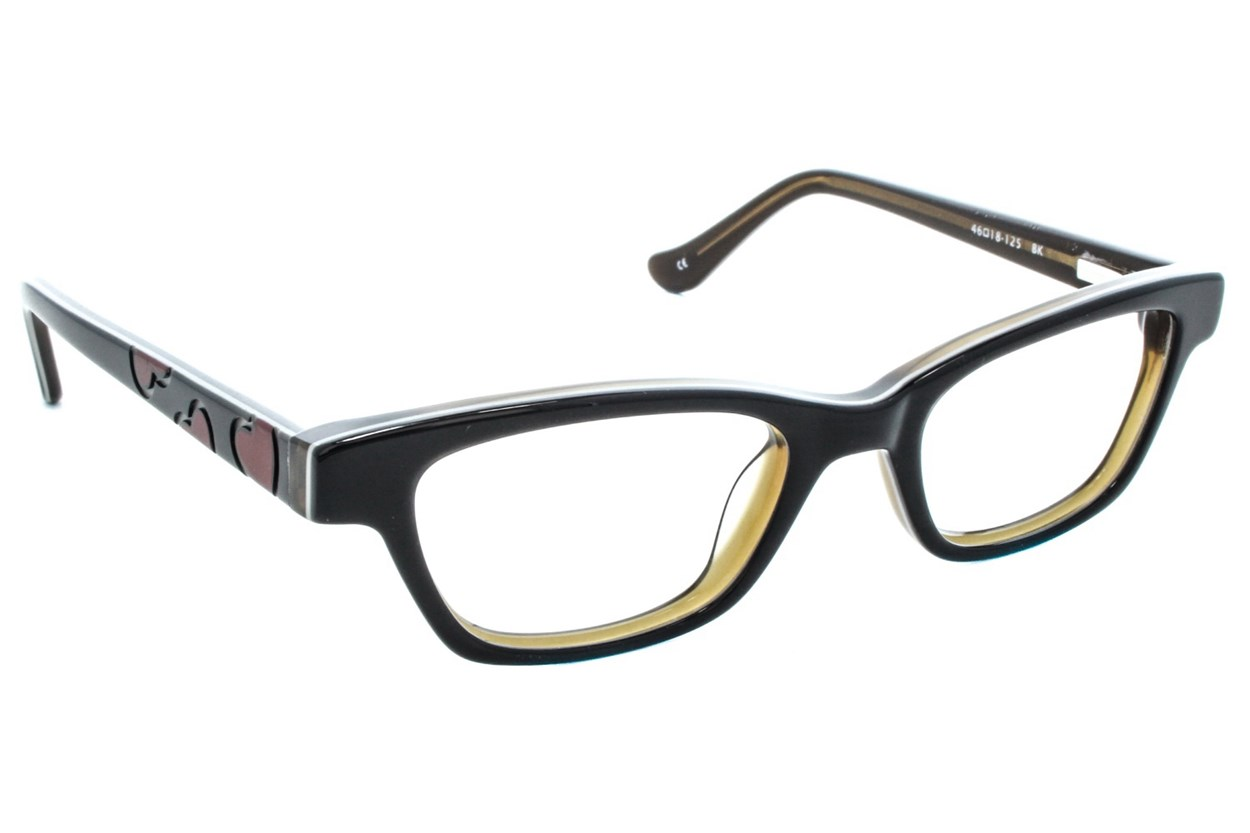 Kensie Girl Dancing Black Eyeglasses