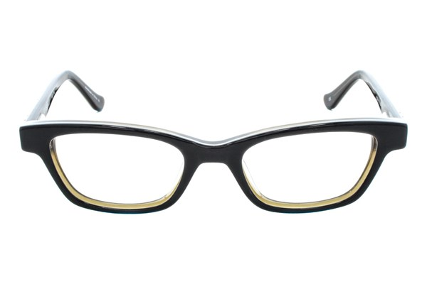 Kensie Girl Dancing Eyeglasses - Black